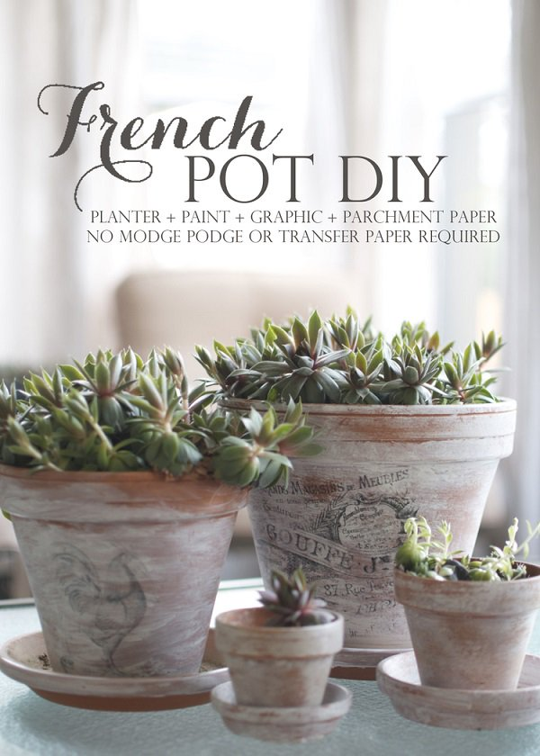 37 DIY FRENCH POT