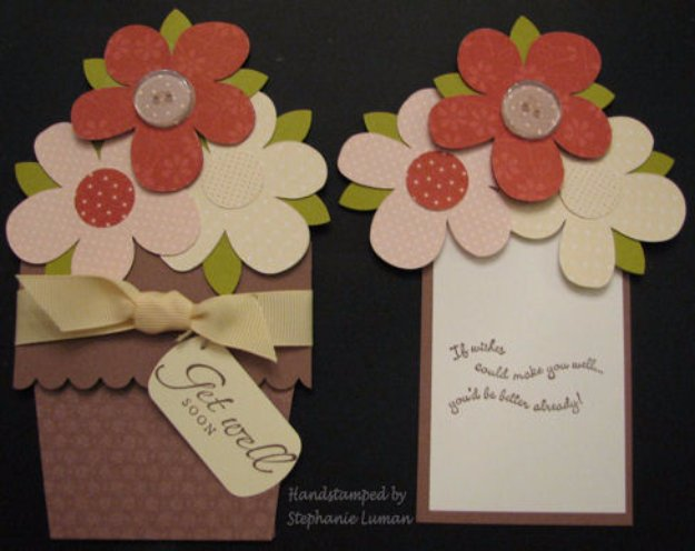 38 Flower Pot Pocket Card