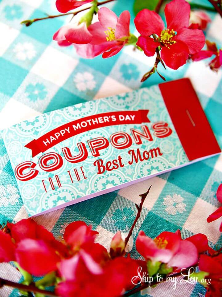 39 Easy DIY Printable Mothers Day Coupons