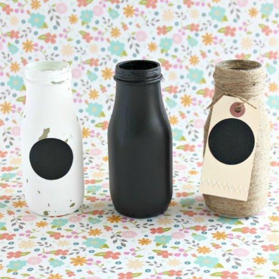 4 Decorative Bottles