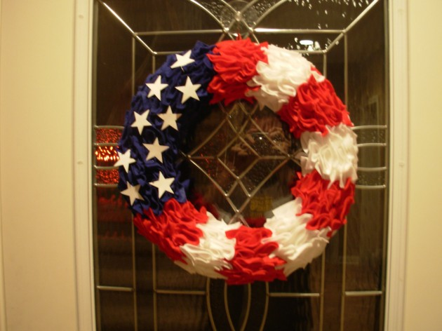 41 Team USA Wreath