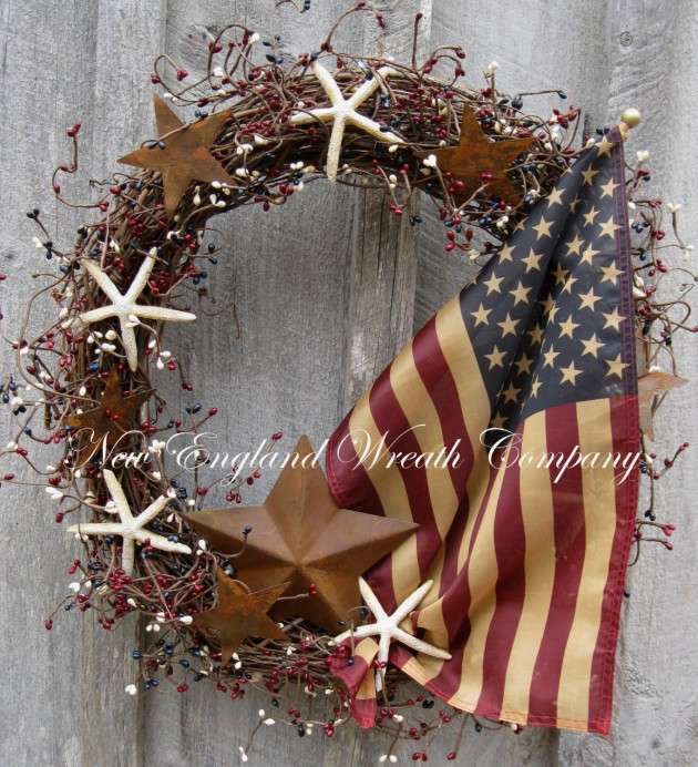 43 Americana Wreath