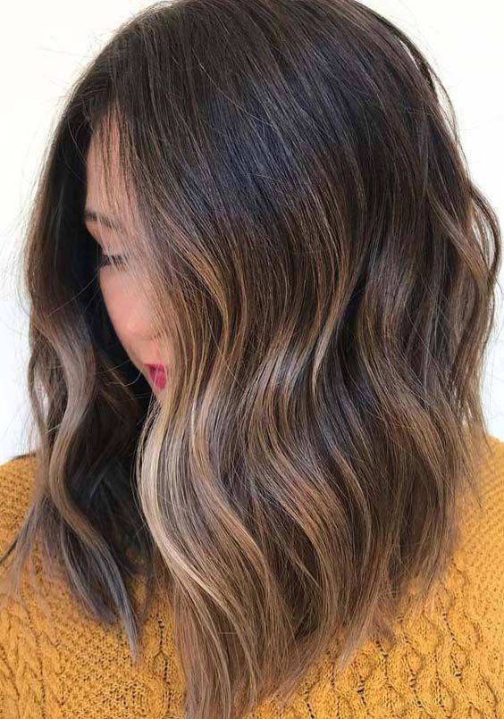 44 Balayage Hair Color