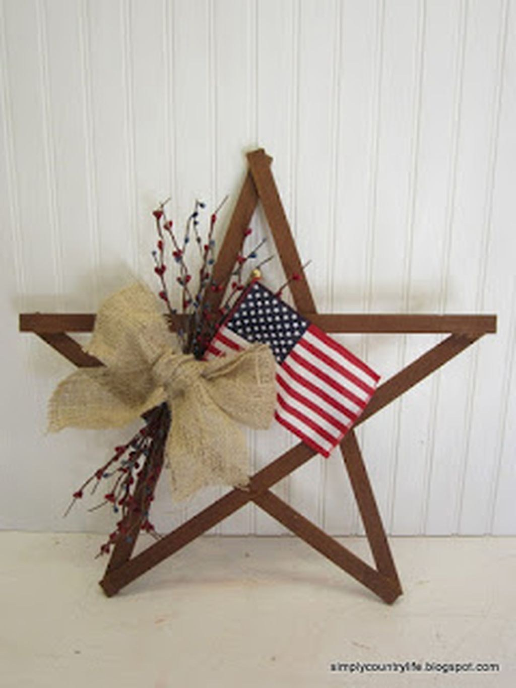 45 DIY Patriotic Wreaths