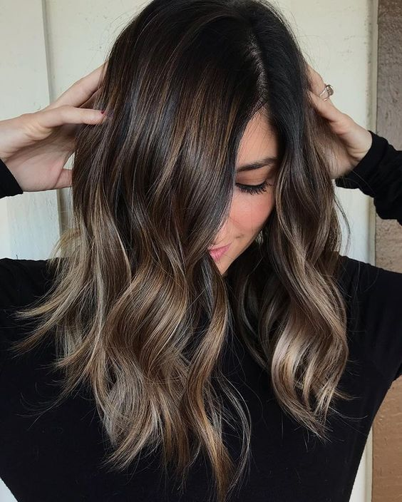 49 Balayage Hair Color
