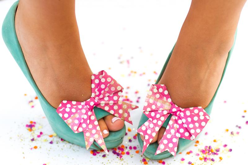 5 Bow Shoe Clips