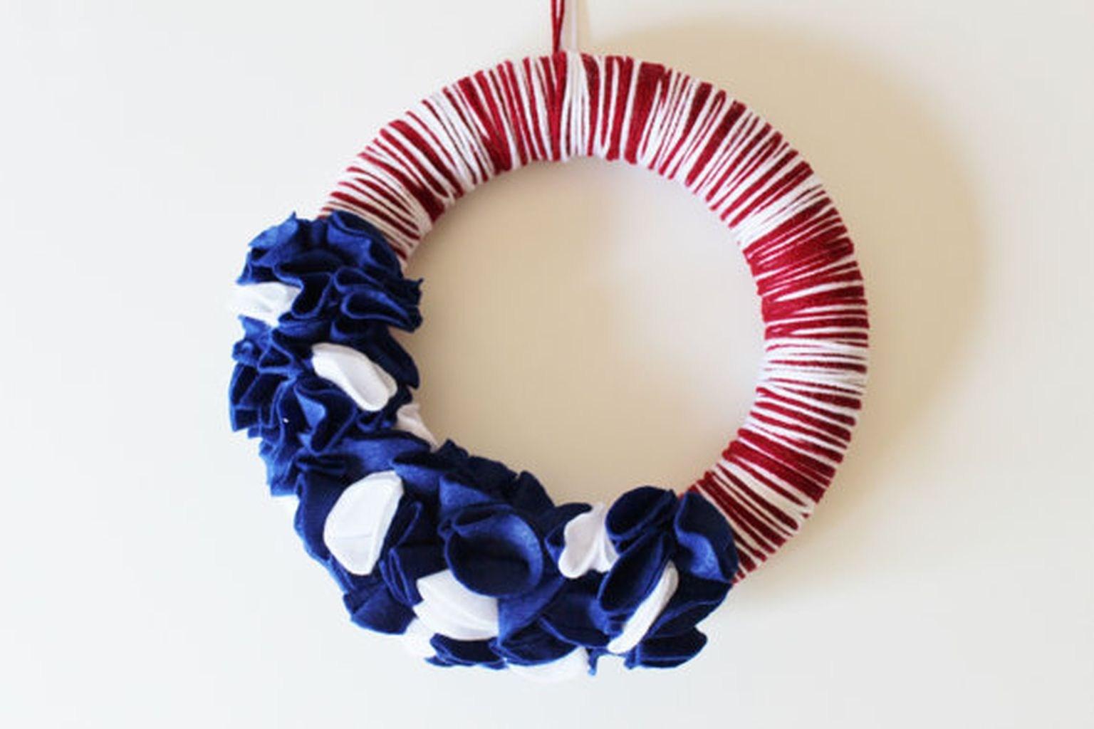 50 DIY Patriotic Wreaths