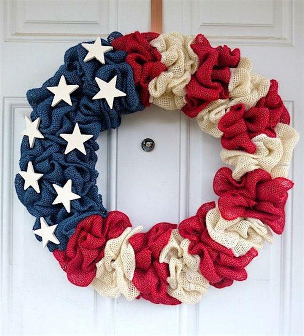 51 DIY Patriotic Wreaths