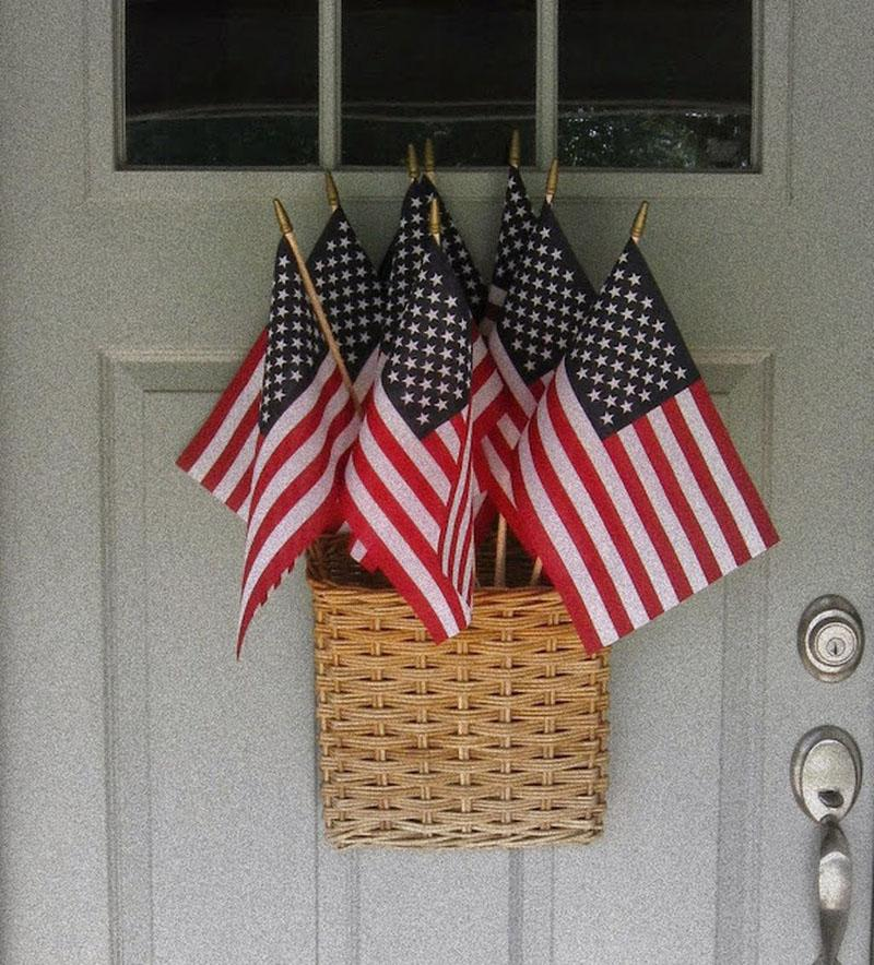 52 DIY Patriotic Wreaths
