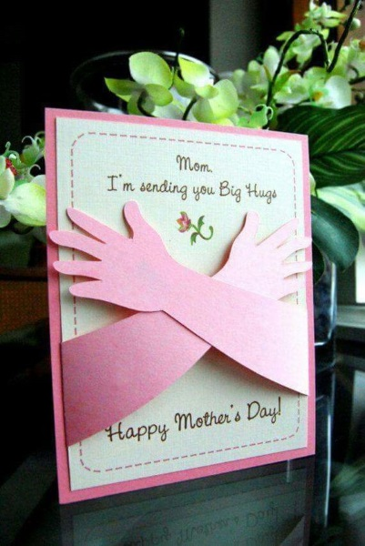 52 Embrace Mother's day card