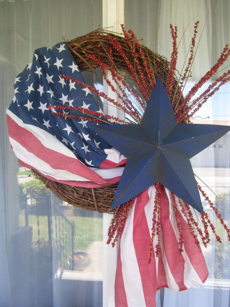 53 DIY Patriotic Wreaths