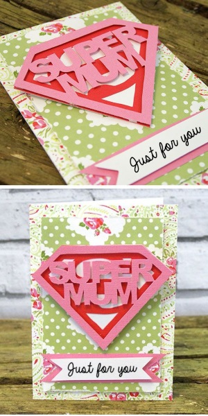 53 Super Mum Mothers Day Card