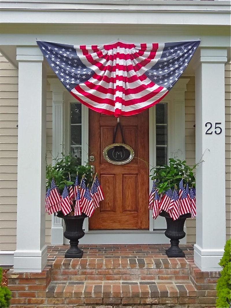 56 DIY Patriotic Wreaths