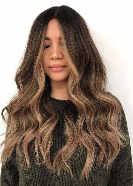 57 Balayage Hair Color