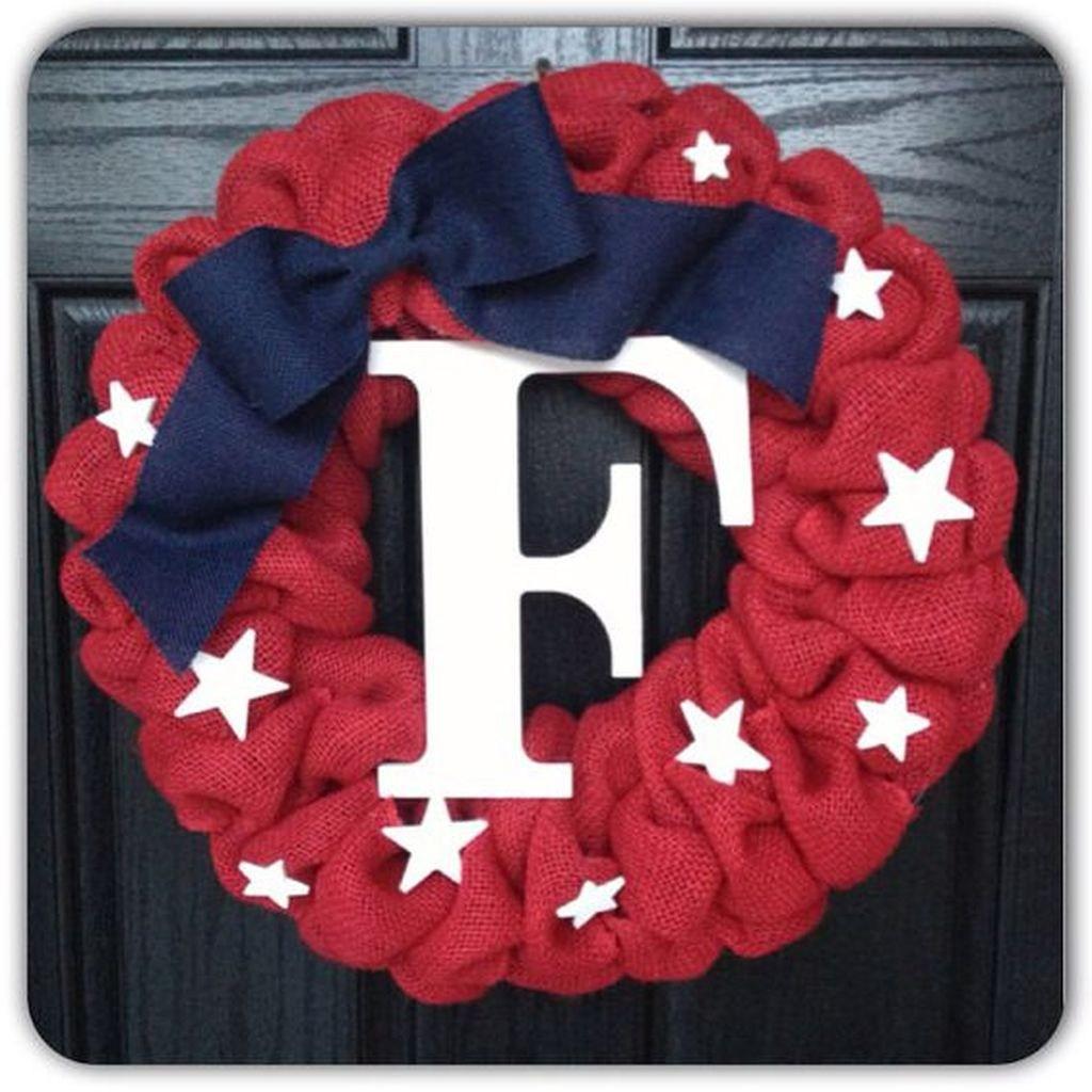 57 DIY Patriotic Wreaths