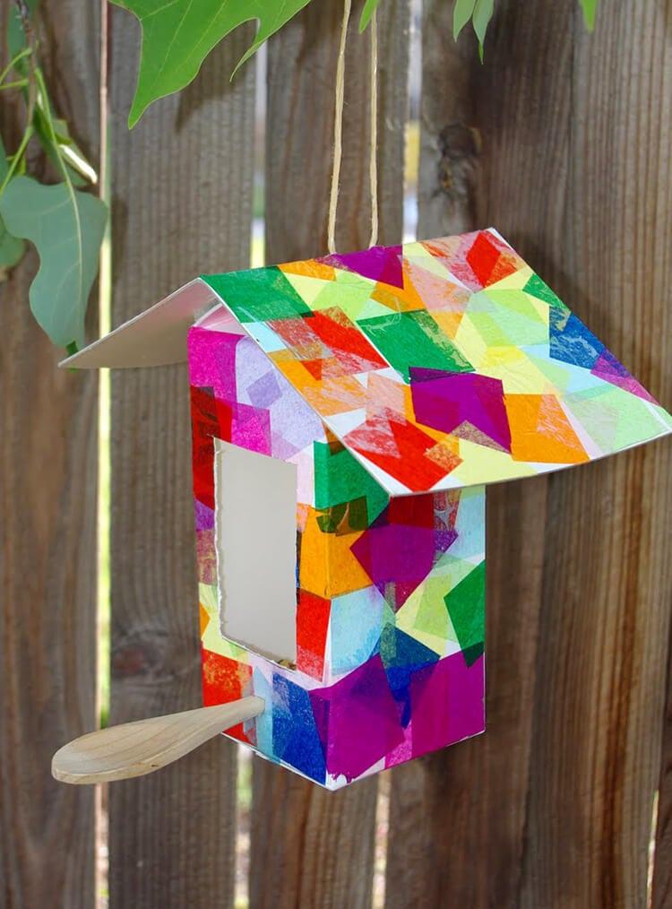 6 Collage Birdhouse