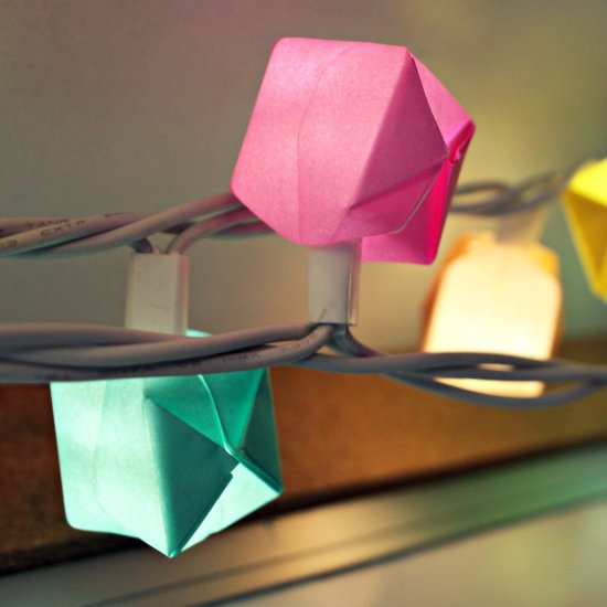 6 Origami Light Boxes