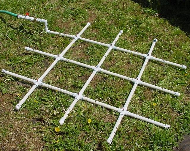 6 PVC Watering Grid