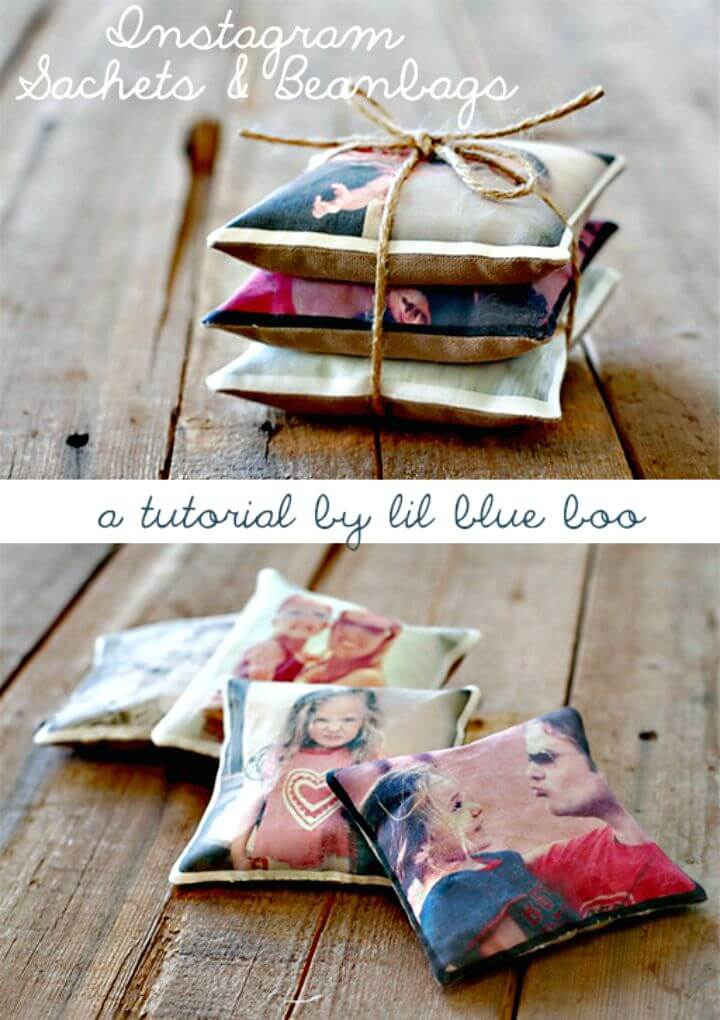 60 Easy DIY Instagram Sachets And Beanbags