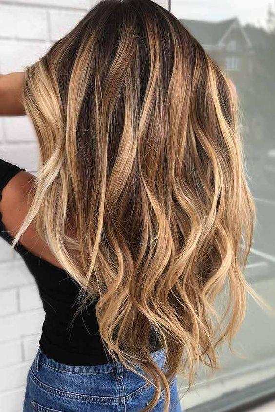 65 Balayage Hair Color