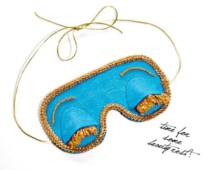 65 DIY Breakfast At Tiffanys Sleep Mask