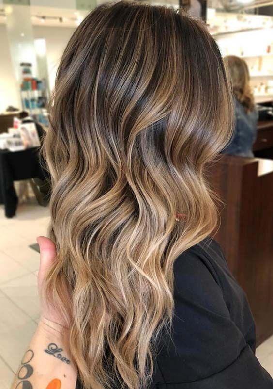 67 Balayage Hair Color