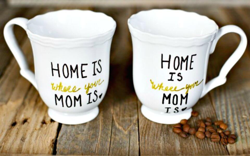 68 Cute DIY Mothers Day Mug