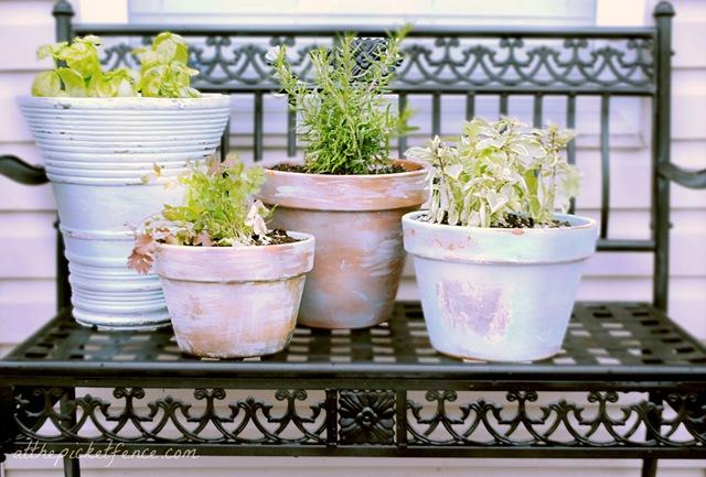 7 Age Your Garden Pots