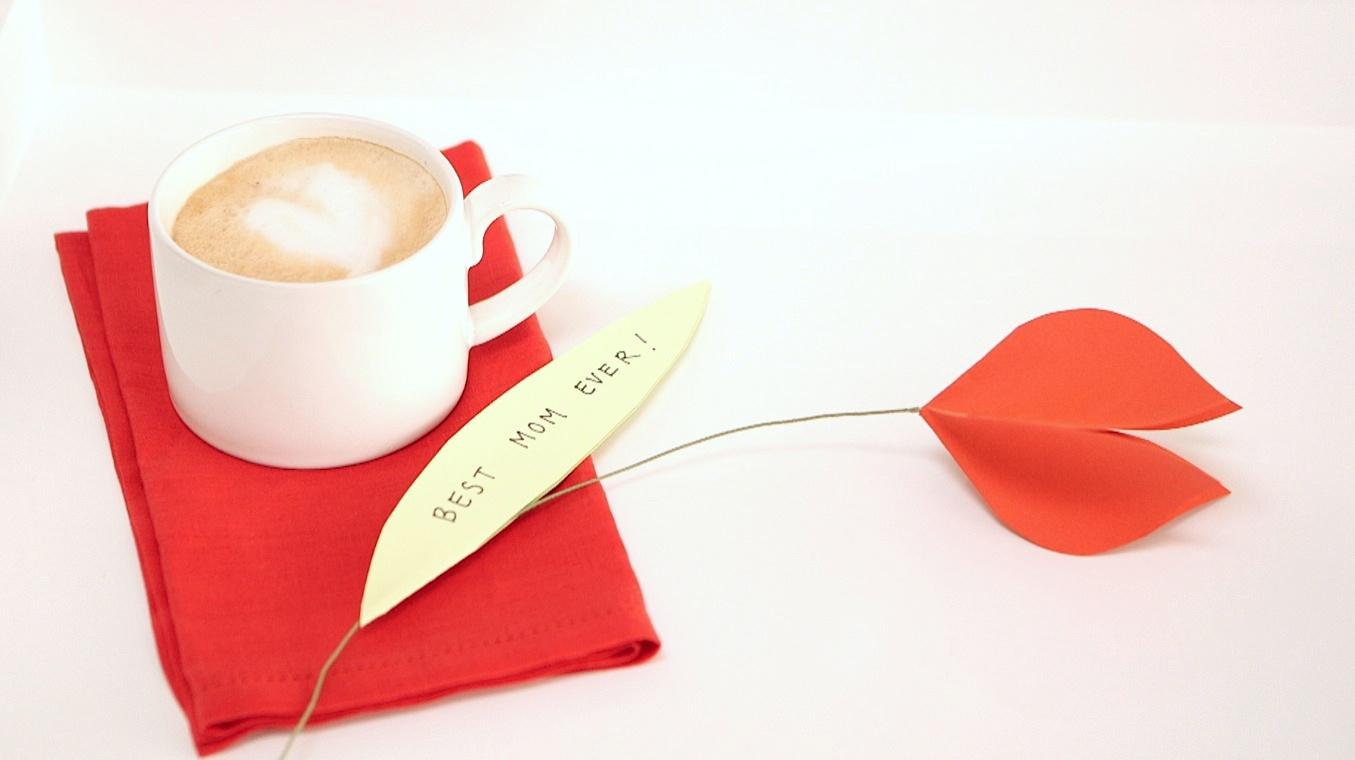 7 Paper tulip card