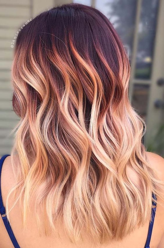 73 Balayage Hair Color
