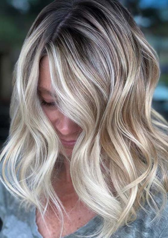 75 Balayage Hair Color