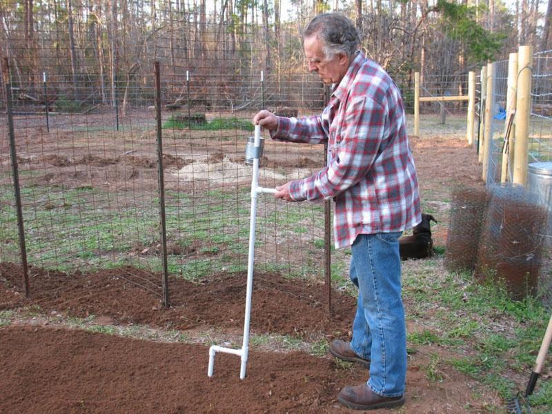 8 Hand-Held Corn Bean Planter