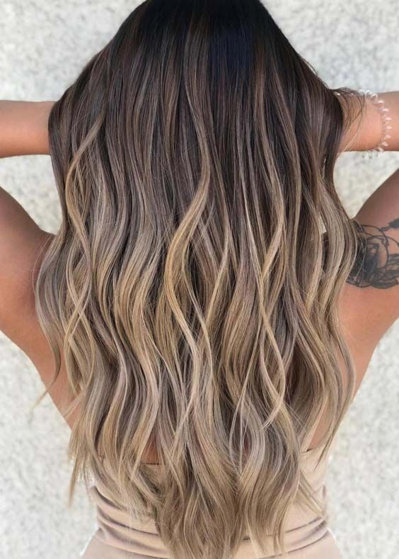 9 Balayage Hair Color