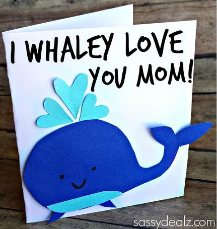 9 I Whaley Love You card
