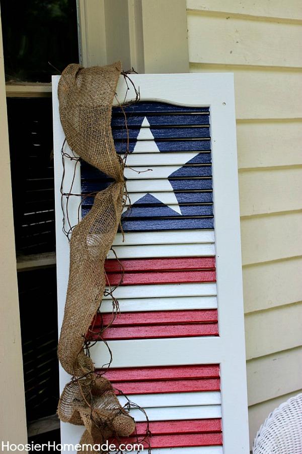 9 Patriotic Shutter