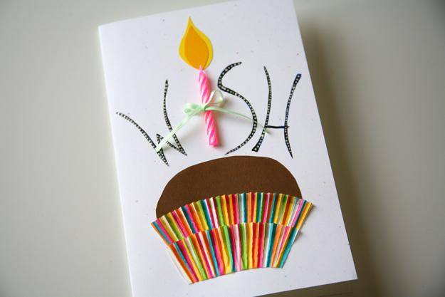 1 DIY Make a Wish Birthday Card