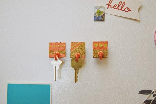1 Key Holder Magnets