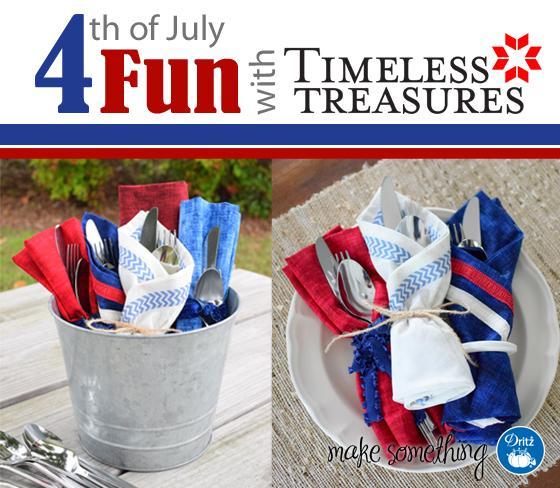 10 Festive 4th of July Napkins