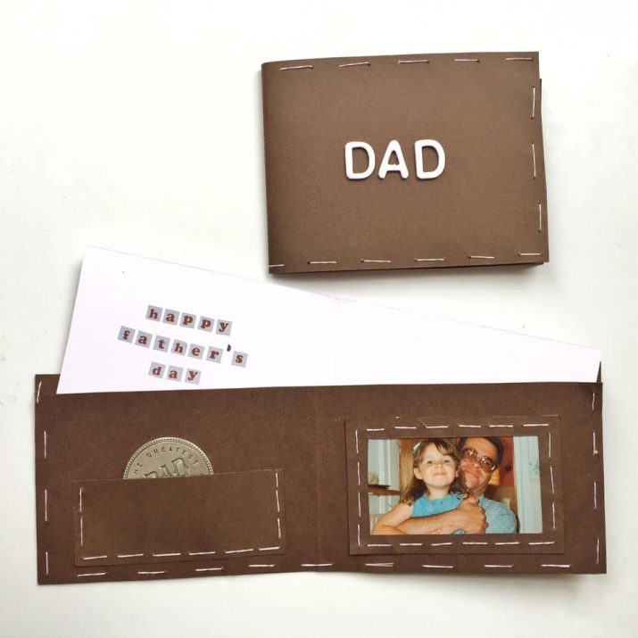 11 Father's Day Wallet Card