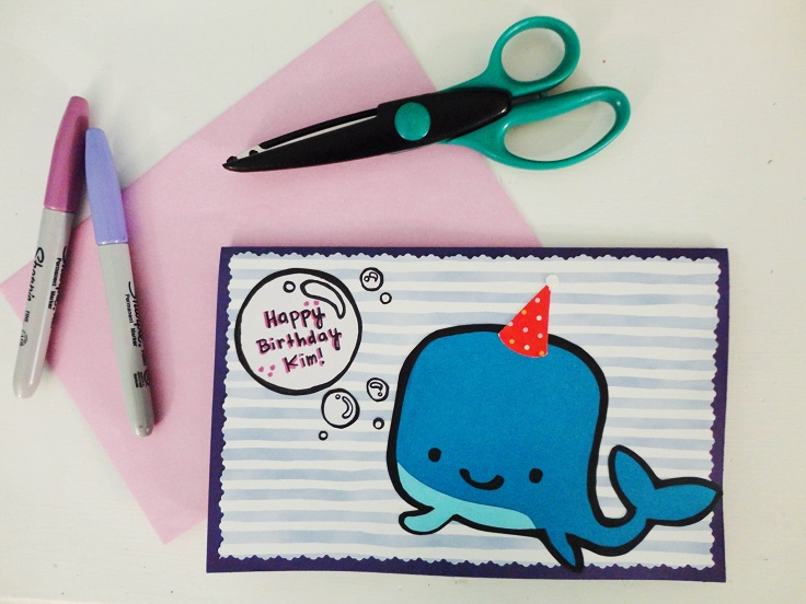 12 Happy Birthday Card For The Kid
