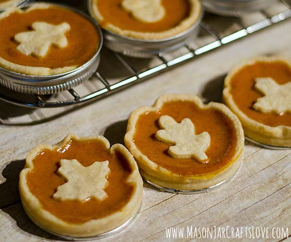 12 Mini Mason Jar Pie Pan