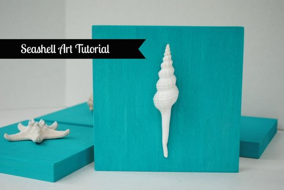 14 Easy Peasy Shell Art