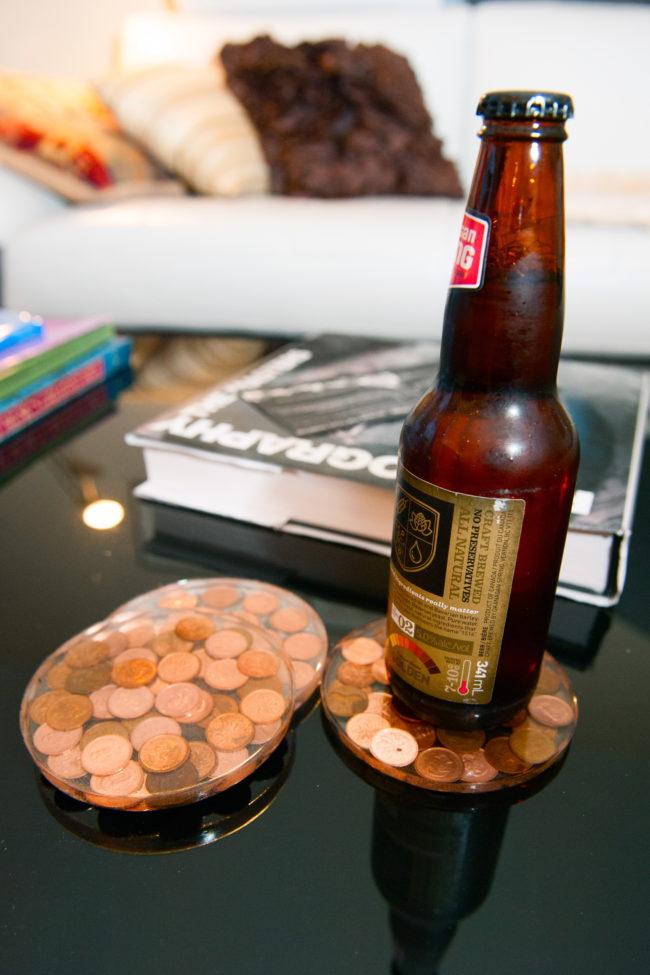 14 Penny Coasters