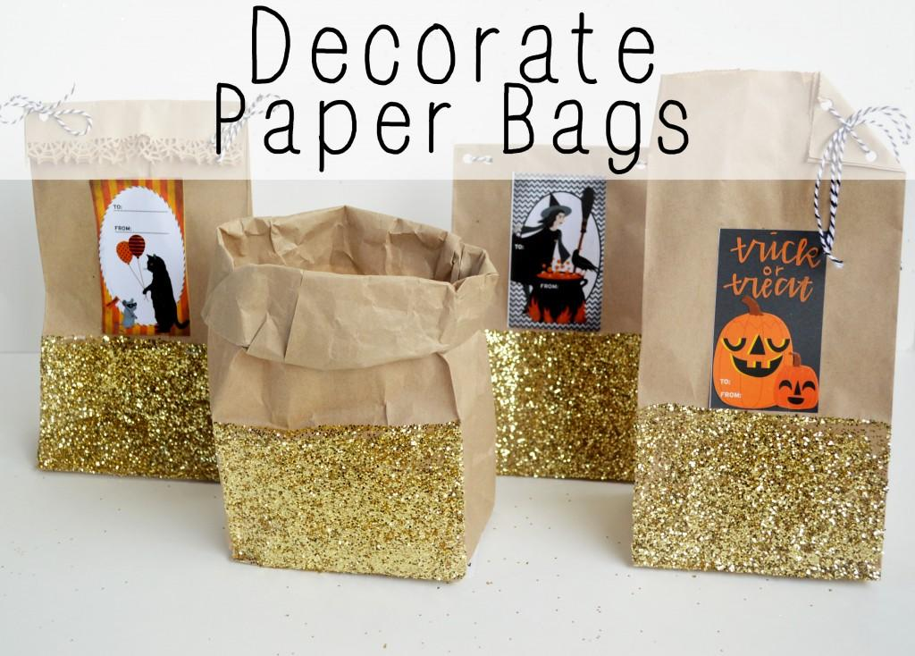 15 Decorate Paper Bags