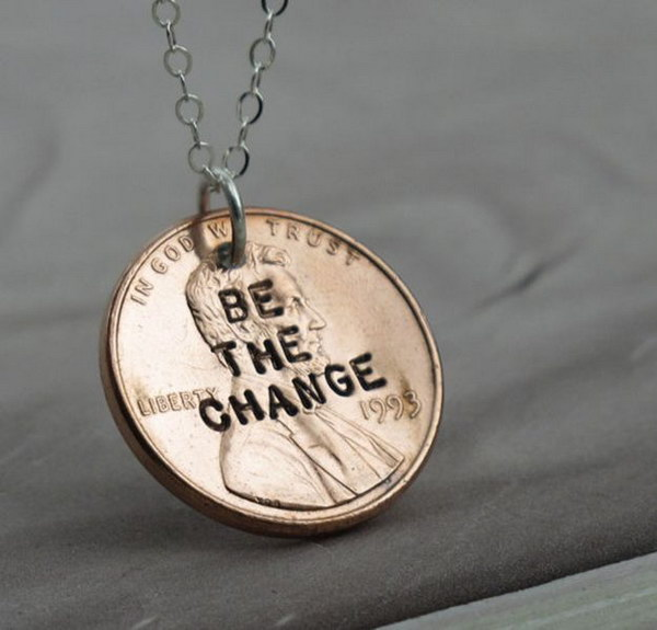 16 DIY Penny Necklace