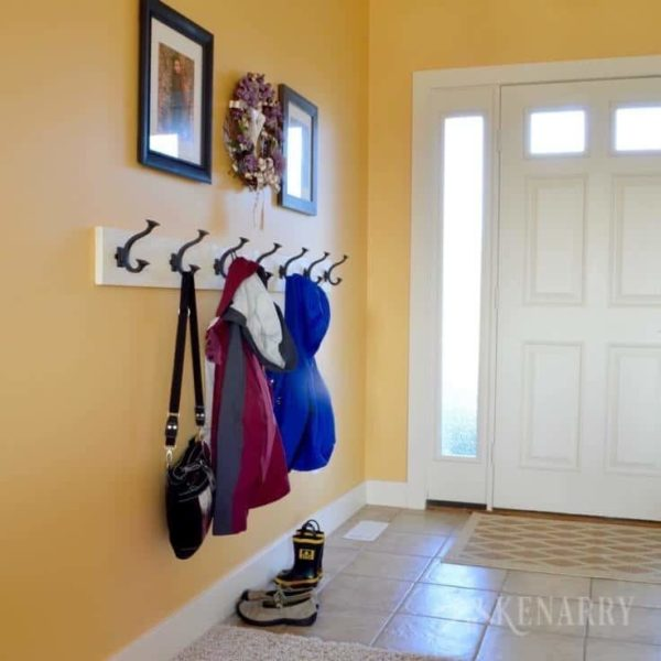 17 Wall Mounted Coat Rack