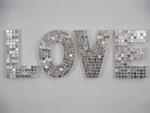 18 DIY Penny Letters