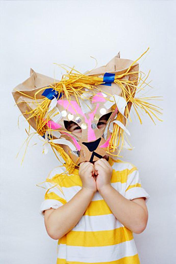 20 Lion Carnival Mask