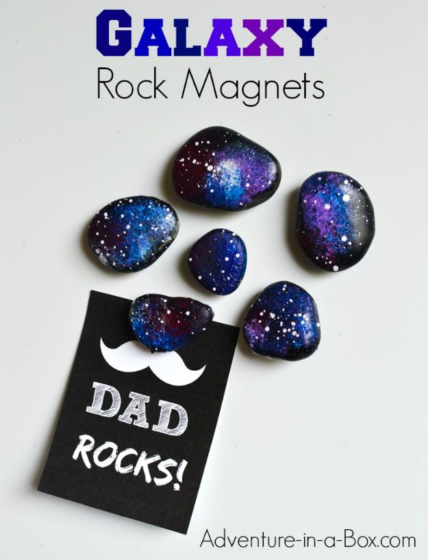 20 Space Rocks Fridge Magnets