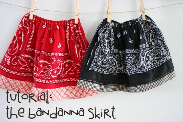 21 Bandanna Skirt